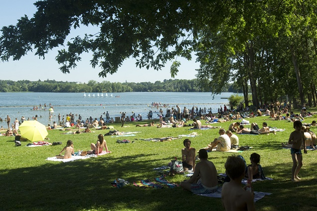 """Credit Ville d'Angers Thierry Bonnet / """"L'été au Lac"""" à Angers : lancement des animations aujourd'hui"""