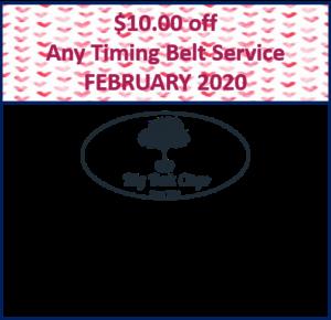 2020.02 – $10 off Timing Belt
