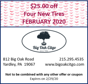 2020.02 $25 off Tires