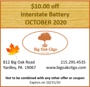 2020.10 – $10 off Battery