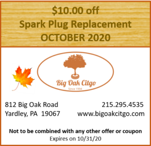 2020.10 – $10 off Spark Plugs