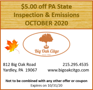 2020.10 – $5 off Inspection