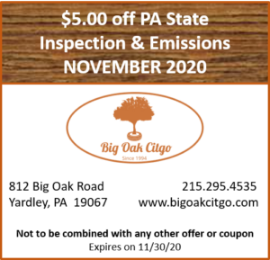 2020.11 – $5 off Inspection