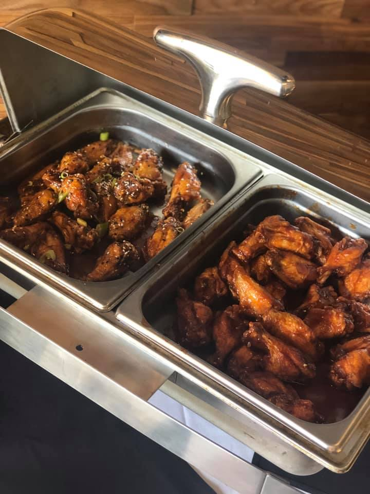 Wings on our $13 weekday lunch buffet!