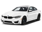 WHITE BMW M4