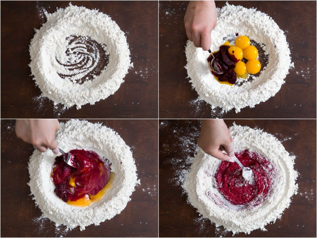 beet-colored-pasta