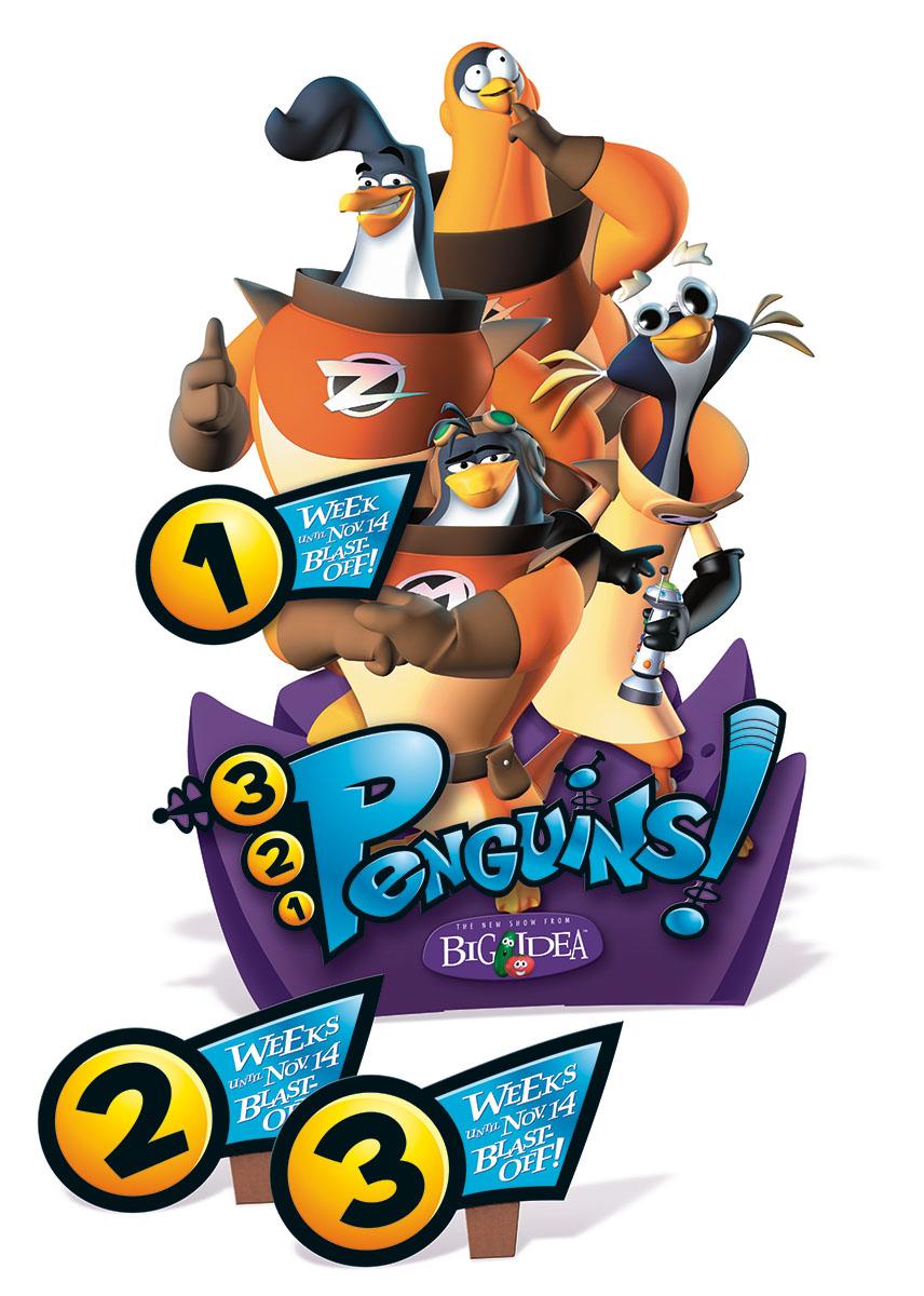 Penguins Display