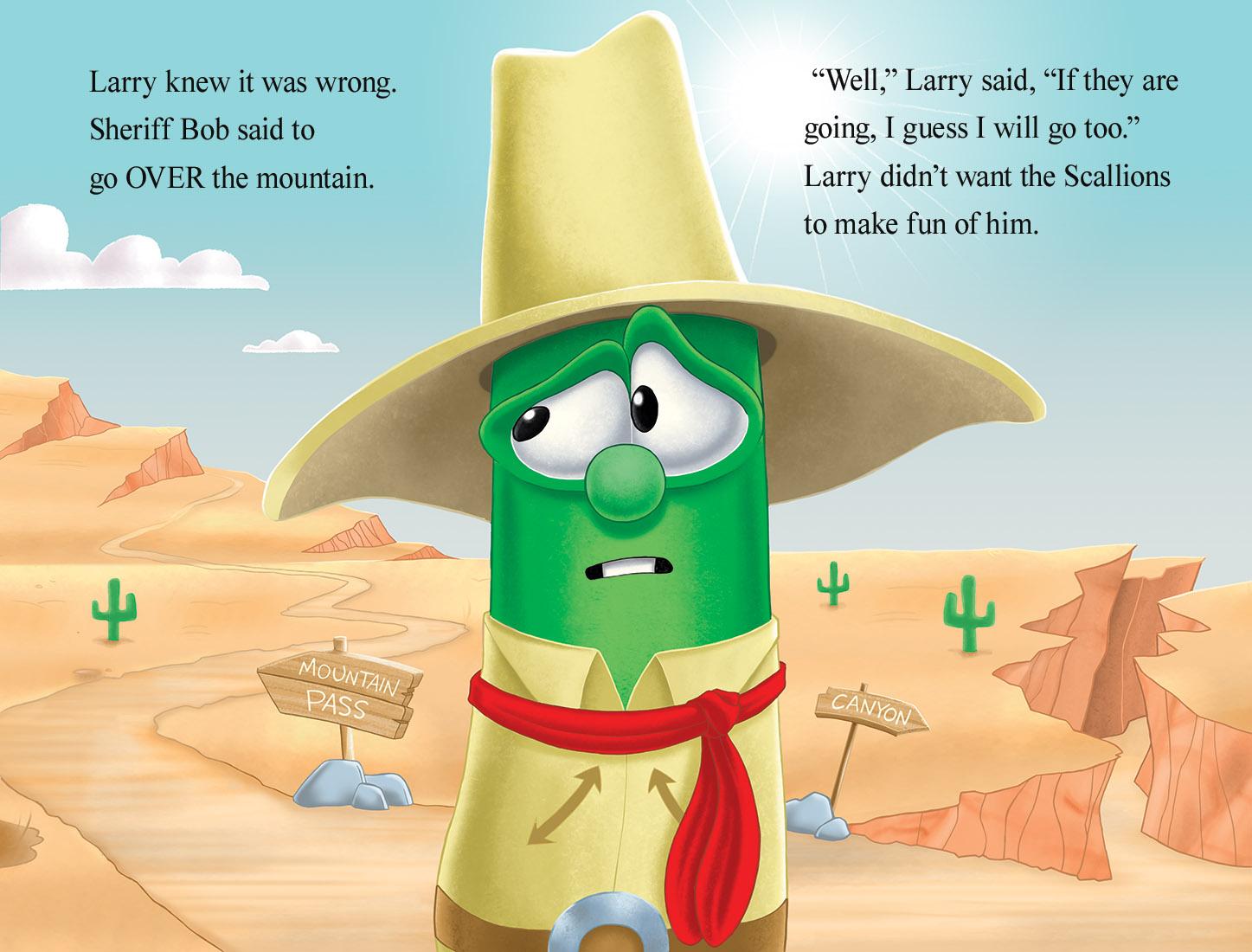Illustration-Publishing-VeggieTales-Larry