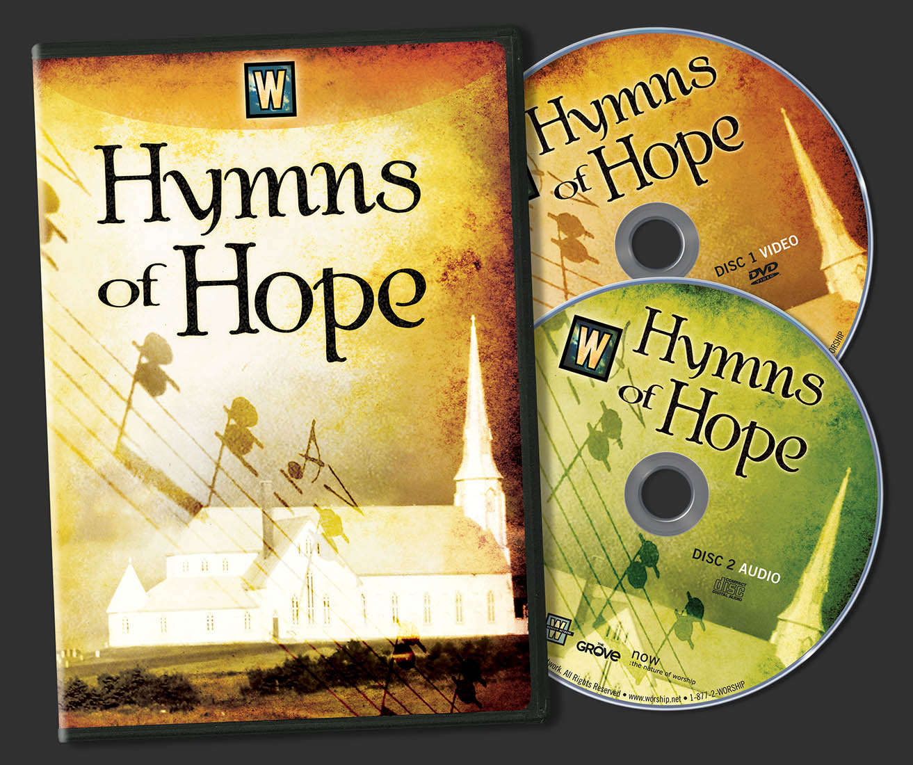 DVD Packaging – The Worship Network