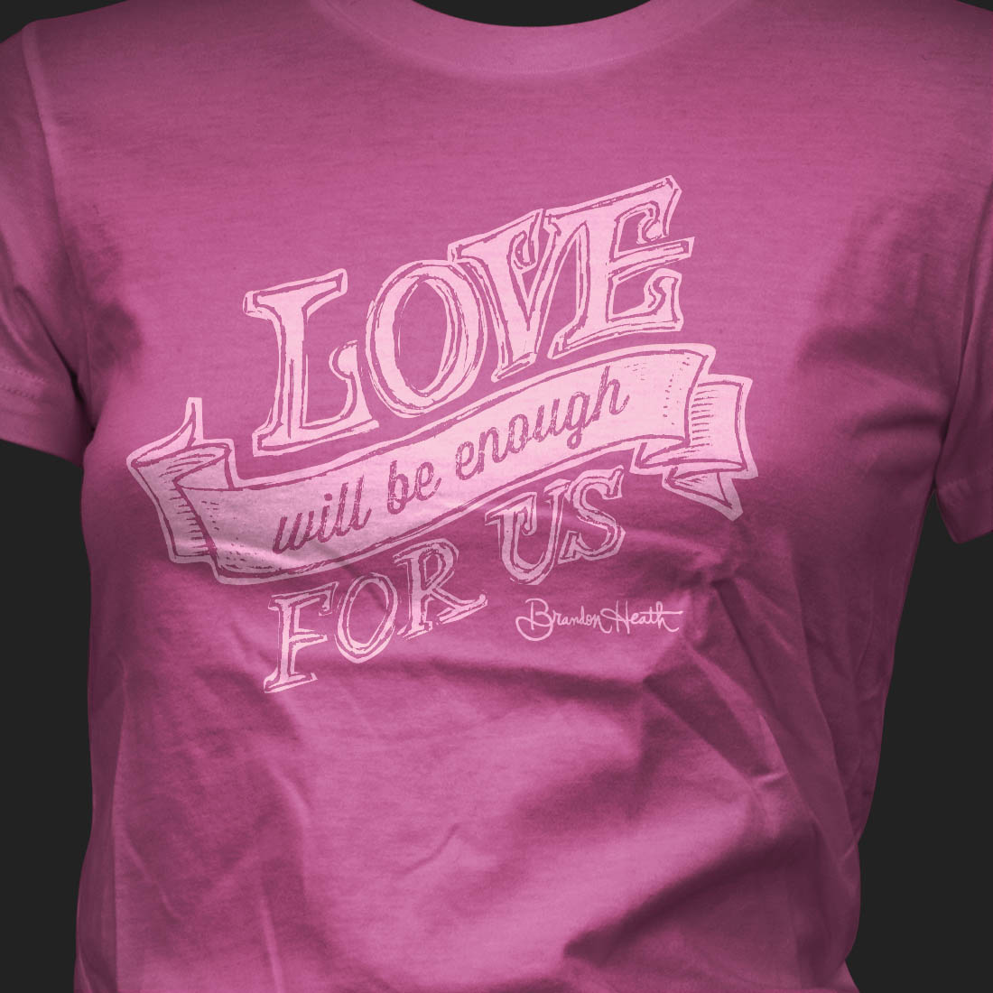 Tshirt-BrandonHeath-LoveEnough2