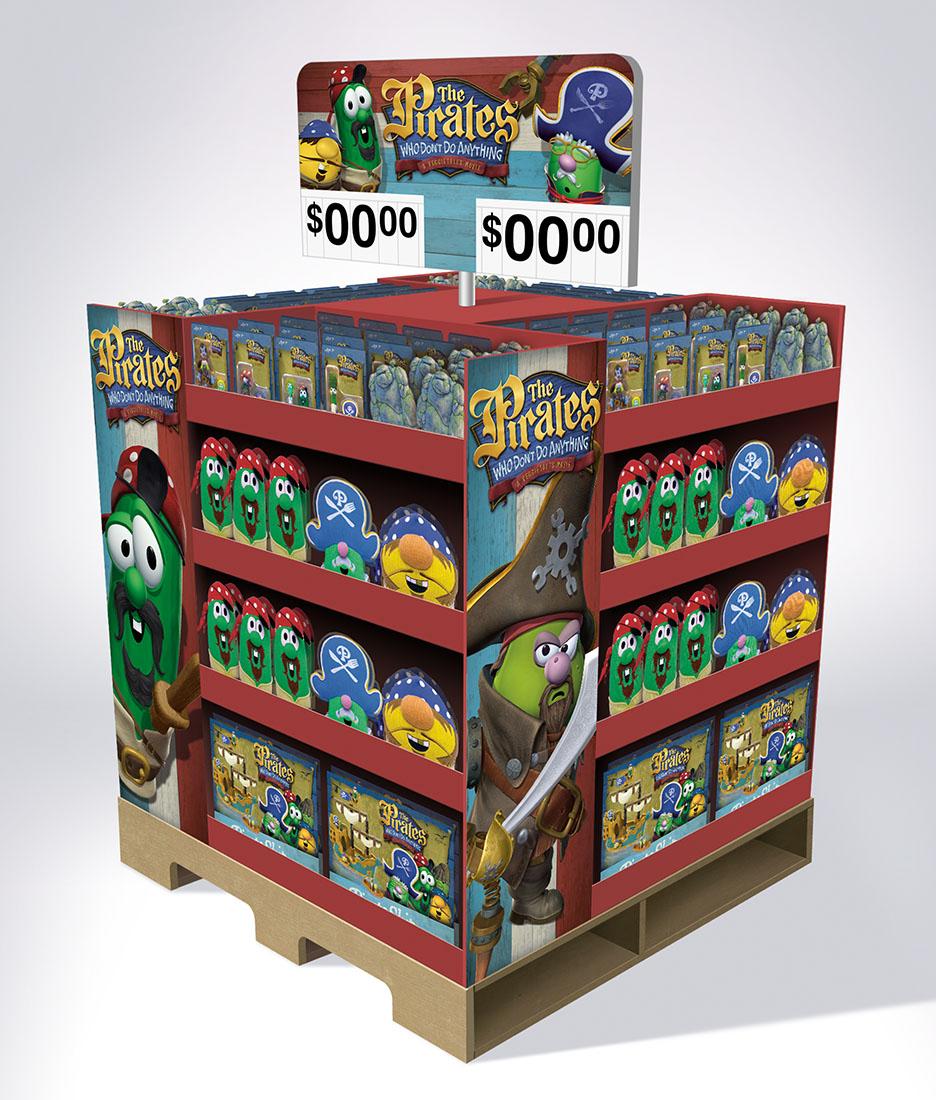 Pirates Wal-Mart Display