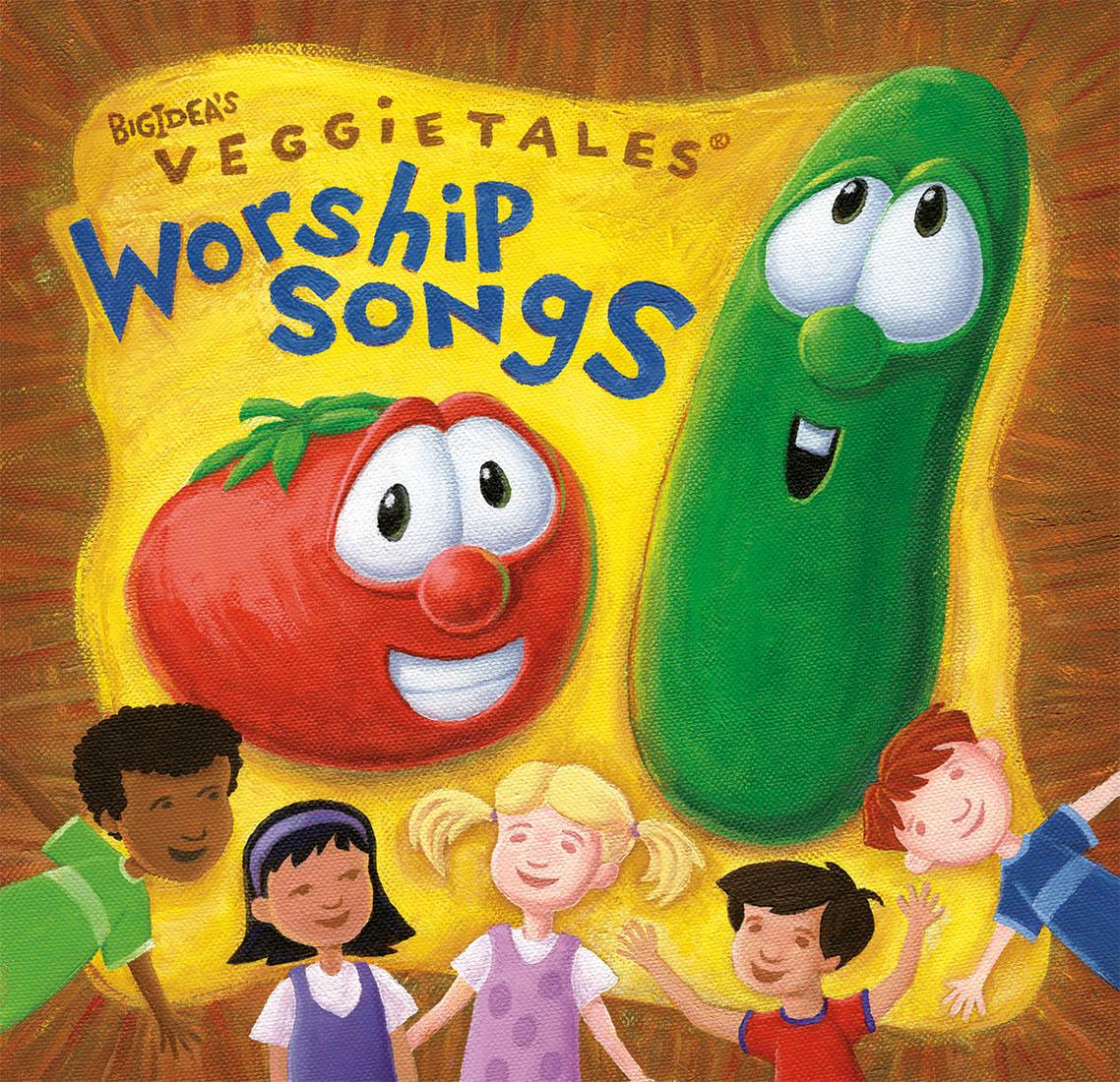 Illustration-CD-Packaging-VeggieTales-Acrylic