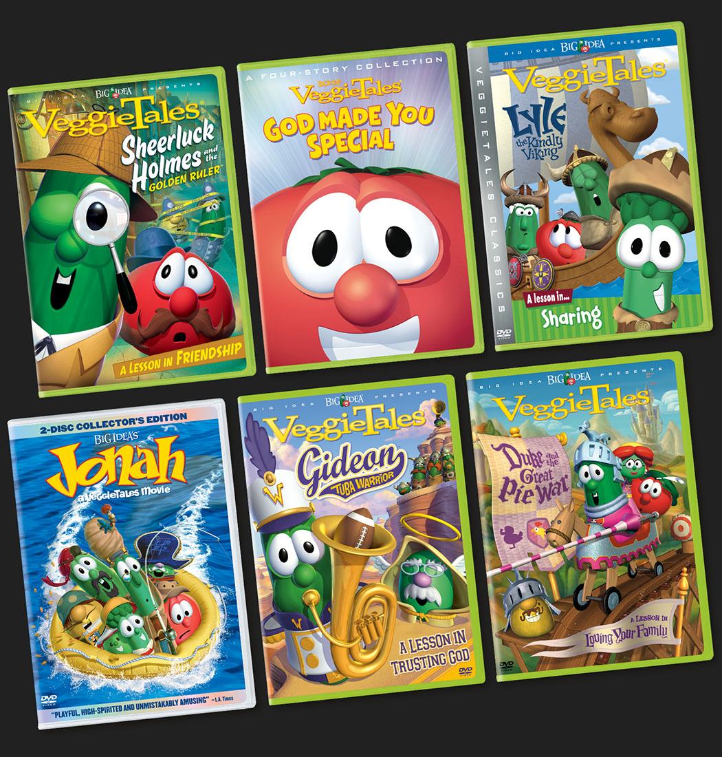 VeggieTales Packaging