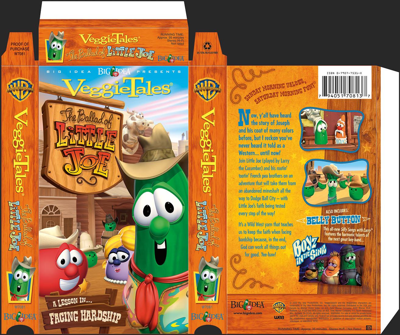 Little Joe VHS Packaging