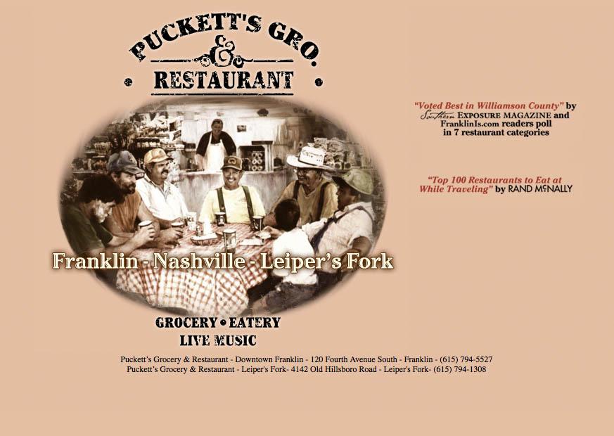 Puckett's old site