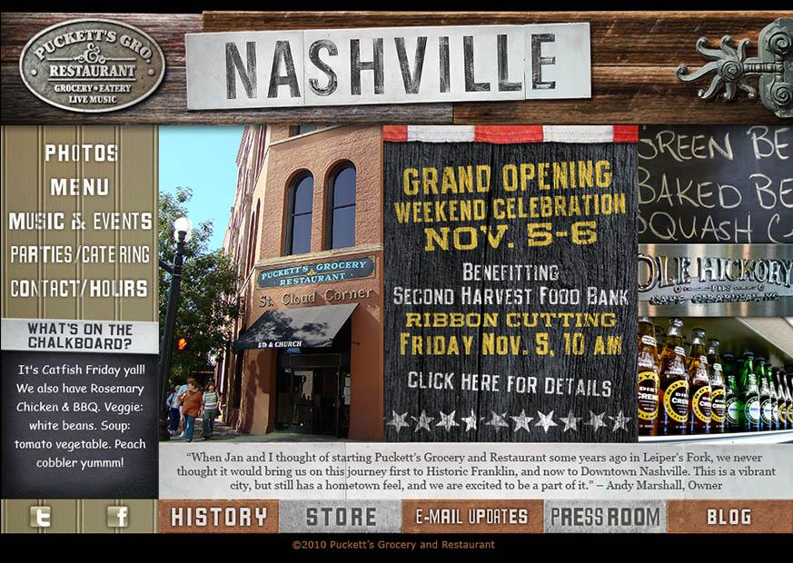 Nashville Page