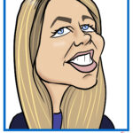 digital caricature at Netapp, Educause