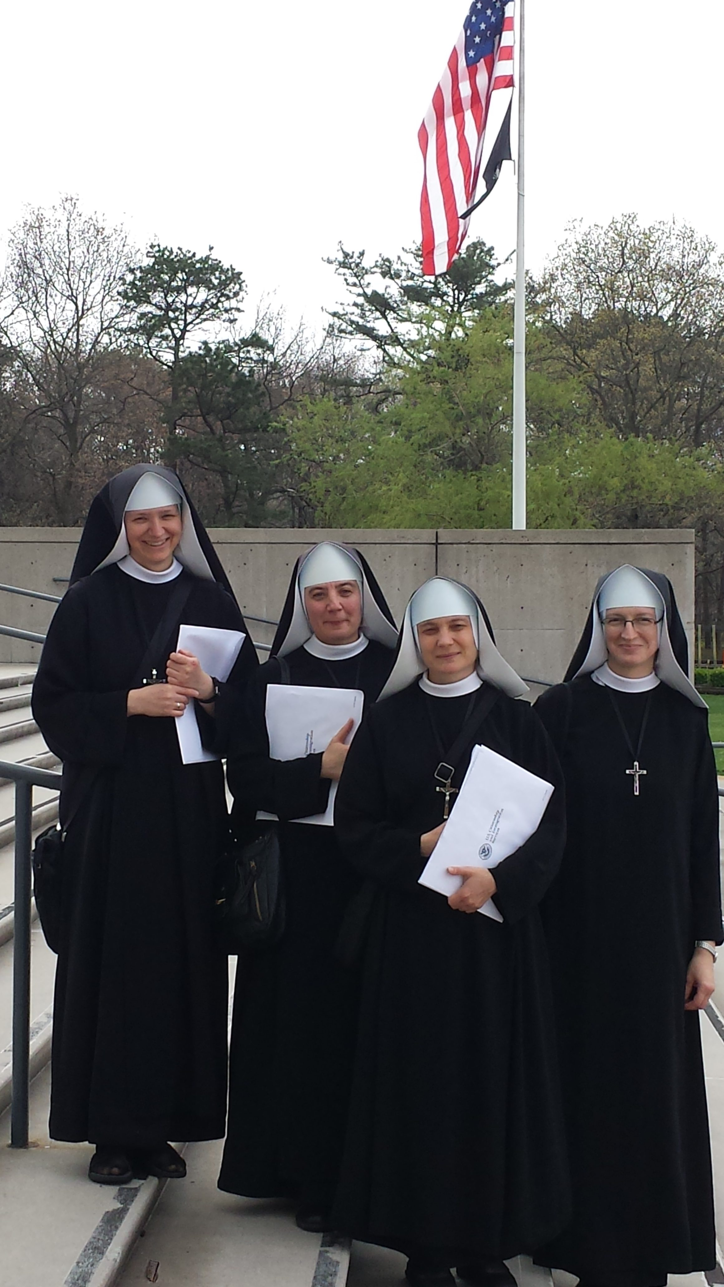 Missionary Sisters of St. Benedict Are U.S. Citizens