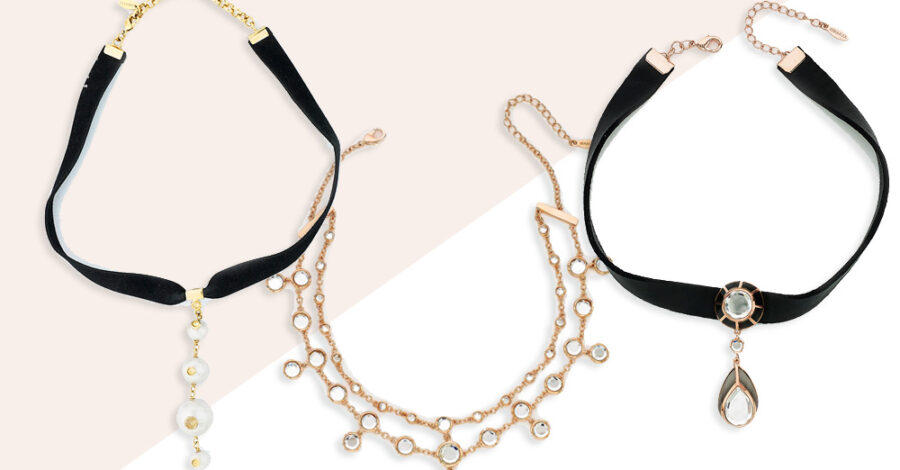 90s Inspired Chokers - modern indian jewelry - instagram jewelry trends 001