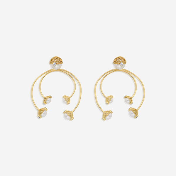 Modern Indian Earrings Holiday Party Style (6)