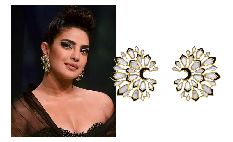 Celebrity-Spring-Style-Modern-Indian-Jewelry-Isharya-001 Priyanka Chopra Jonas