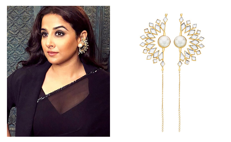 Celebrity-Spring-Style-Modern-Indian-Jewelry-Isharya-003 Vidya Balan