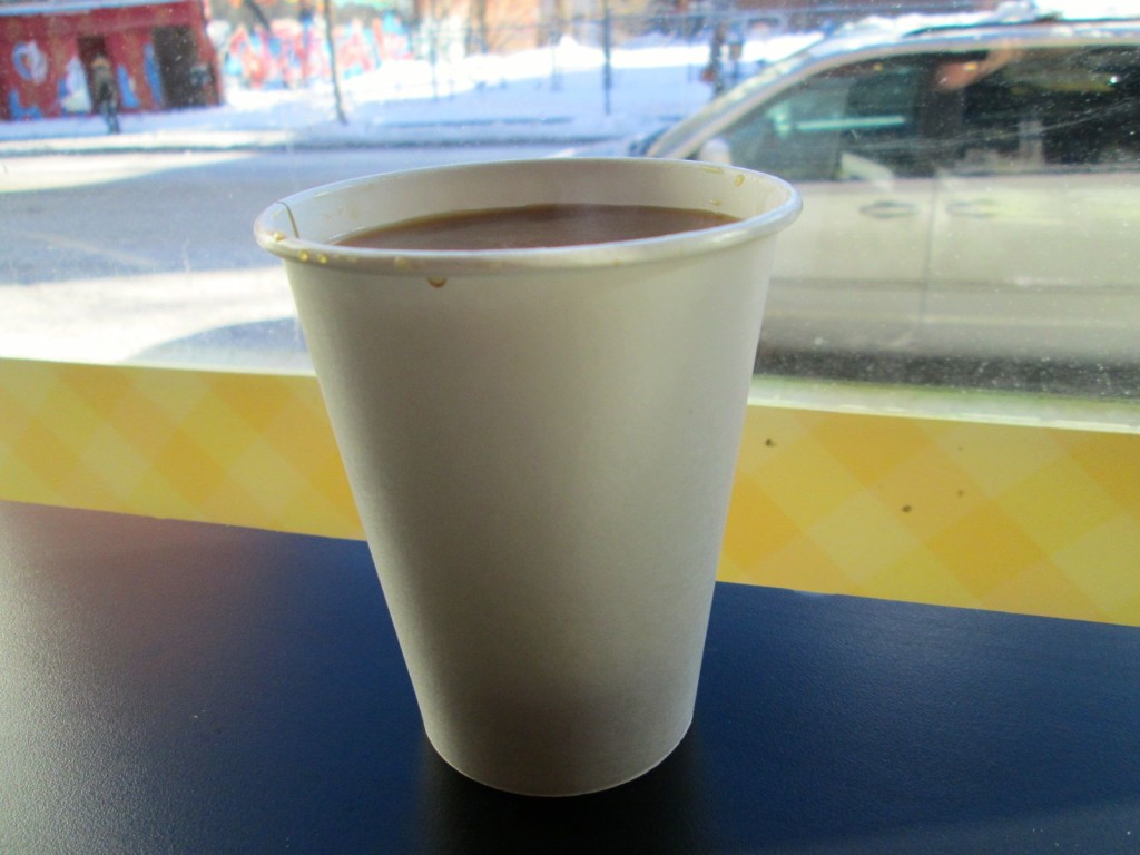 Coffee at Cachitos. Photo Rachel Levine