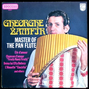 George Zamfir with panflute