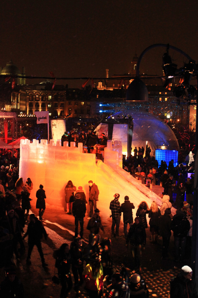 Igloofest Jan 18. Photo LIliane Hudecova.