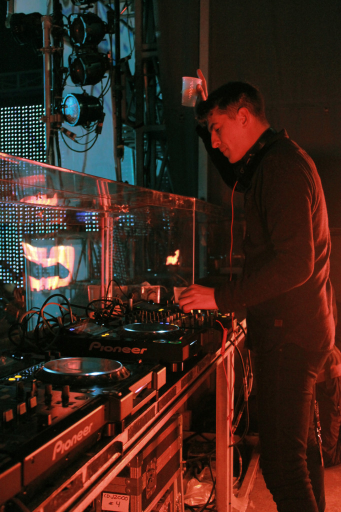 DJ Skream. Photo LIliane Hudecova.
