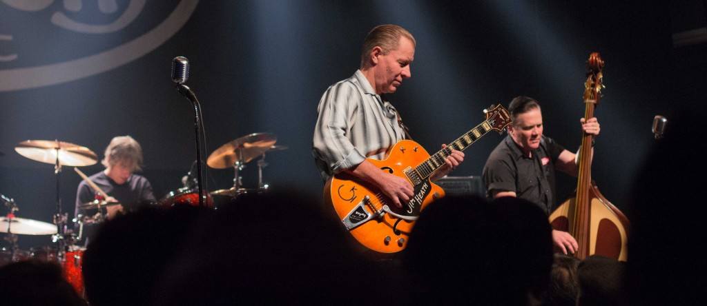 Reverend Horton Heat. Photo Andres Roget.