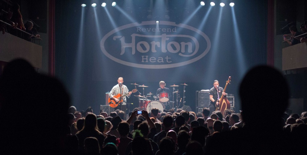 Rev Horton Heat. Photo Andres Roget.
