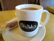 Shaika Cafe coffee. Photo Rachel Levine