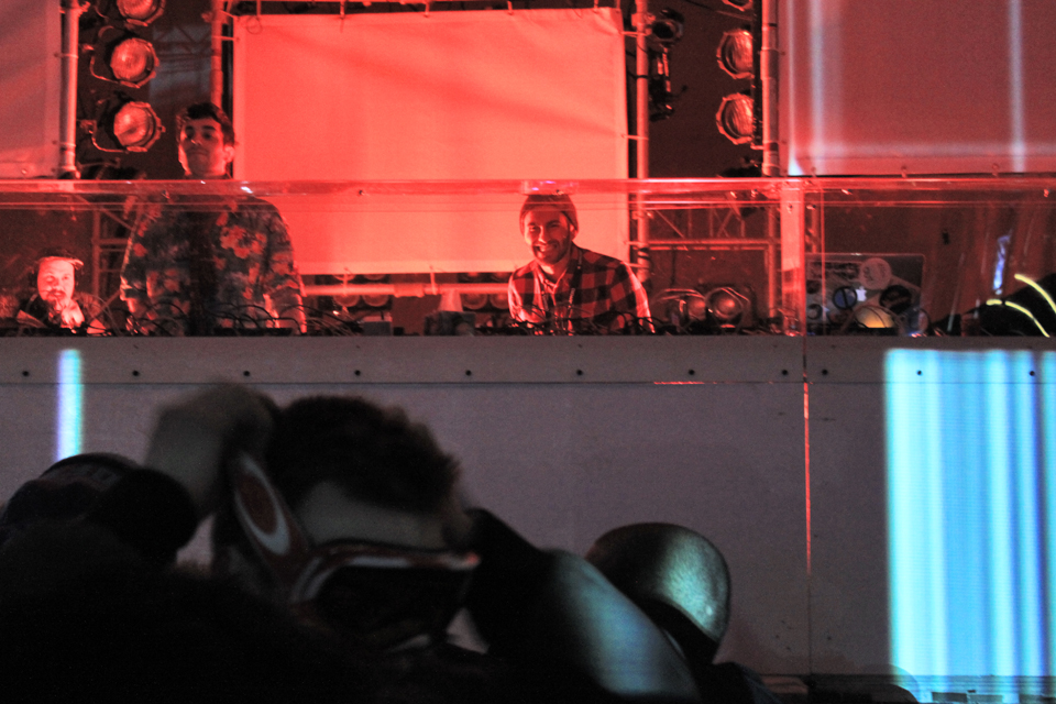 Igloofest 2014 January 31. Gab Rhome with Hot Since 82. Photo Lili Hudecova