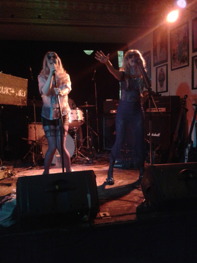 The Casket Girls at Casa del Popolo. Photo Nina Chabel
