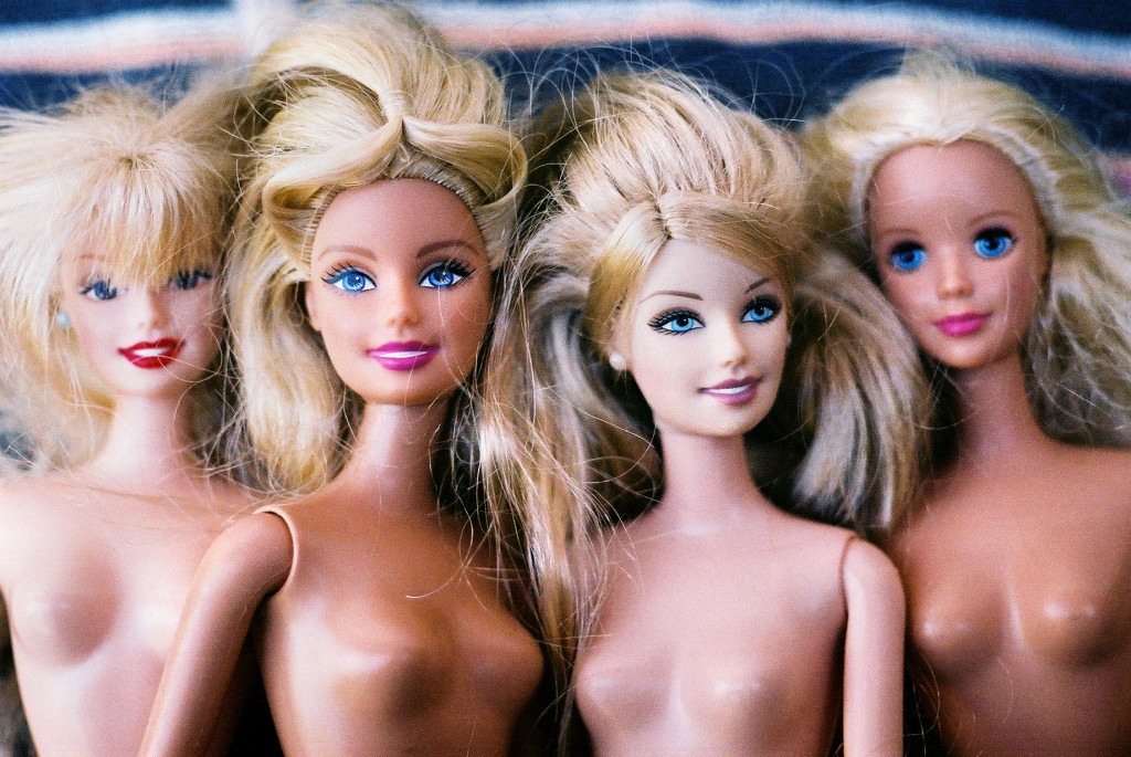"""Barbie Heads"" (from the series Barbies) by Jonah Migicovsky"