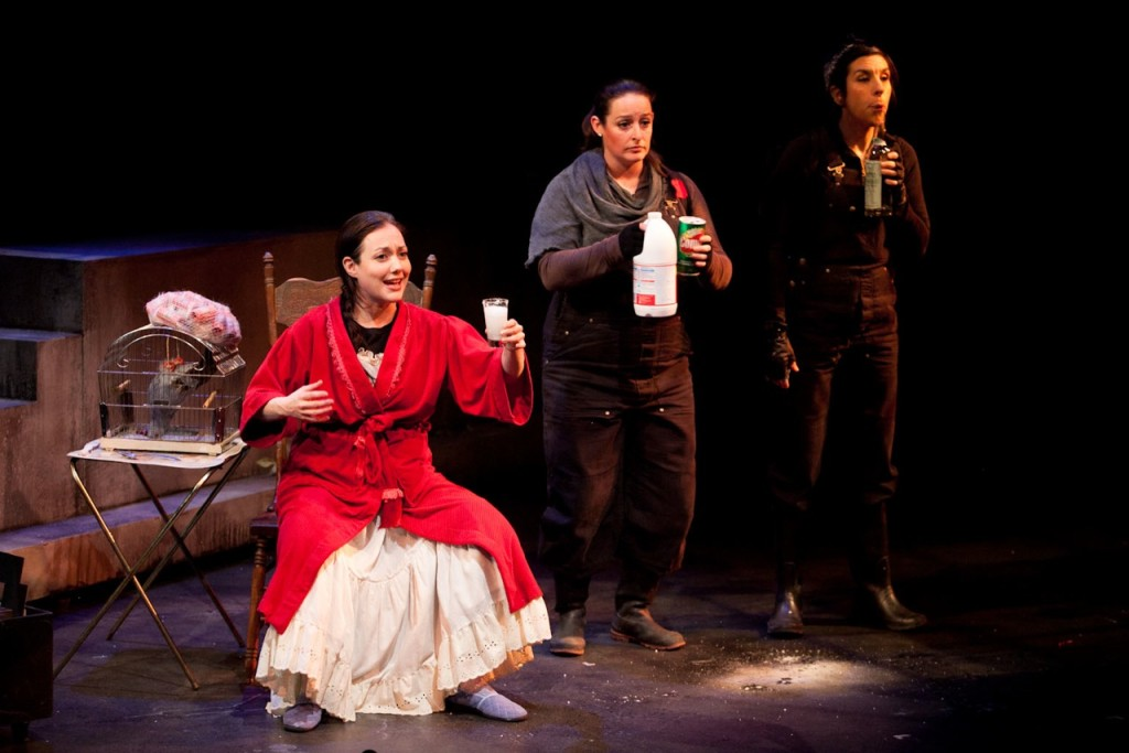Motherhouse. Holly Gauthier-Frankel, Stephanie Mckenna, Bernadette Fortin (back), Delphine Bienvenu. Photo ©lucetg.com