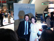 Taylor Kitsch and Liane Balaban. Grand Seduction. Photo LIli Hudecova.