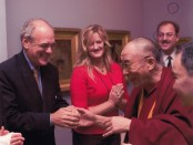 Shep Gordon and Dali Lama
