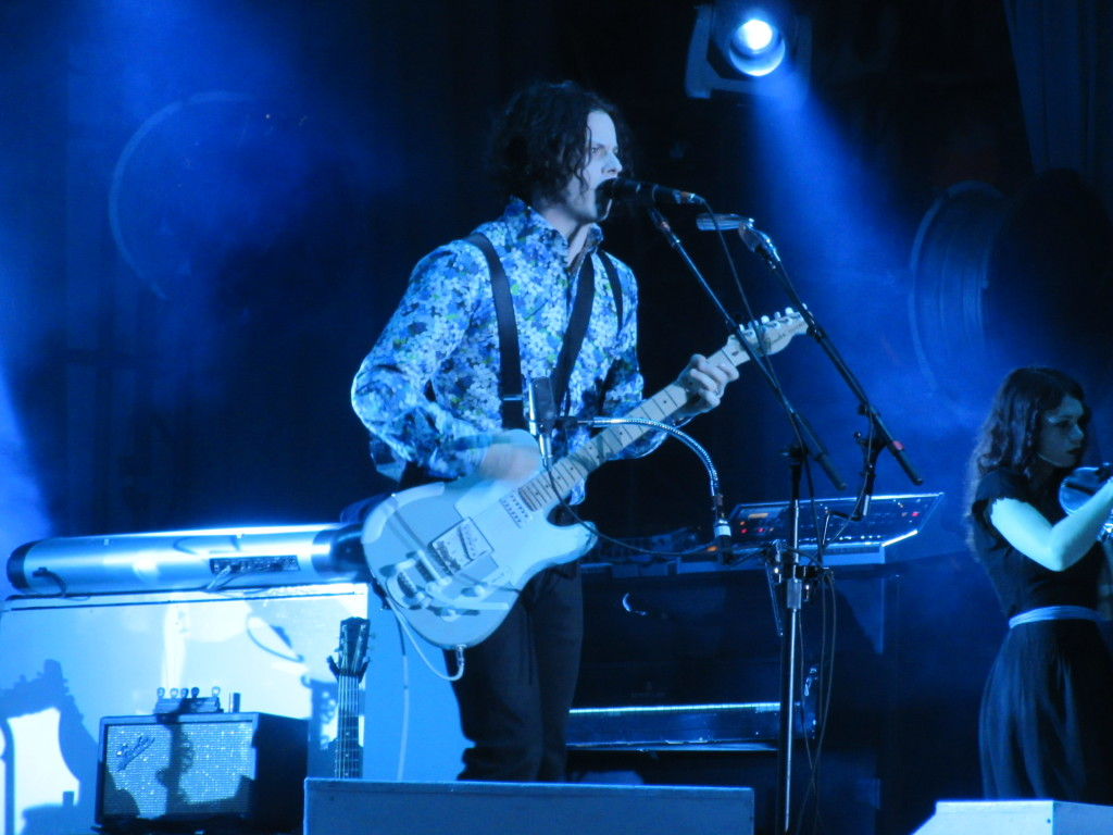 Jack White at Governor's Ball 2014 New York. Photo by Robyn Homeniuk.