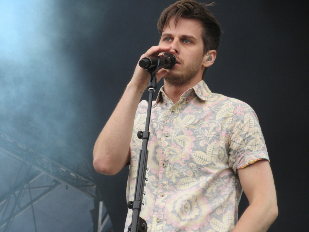 Foster The People at Governor's Ball 2014 New York. Photo by Robyn Homeniuk.