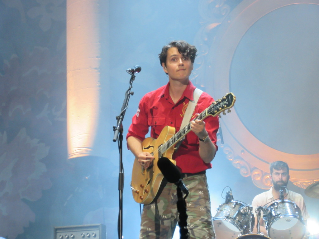 Vampire Weekend at Governor's Ball 2014 New York. Photo by Robyn Homeniuk.