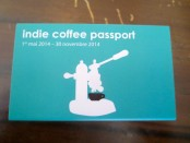 Indie Coffee Passport Montreal. Photo Rachel Levine.