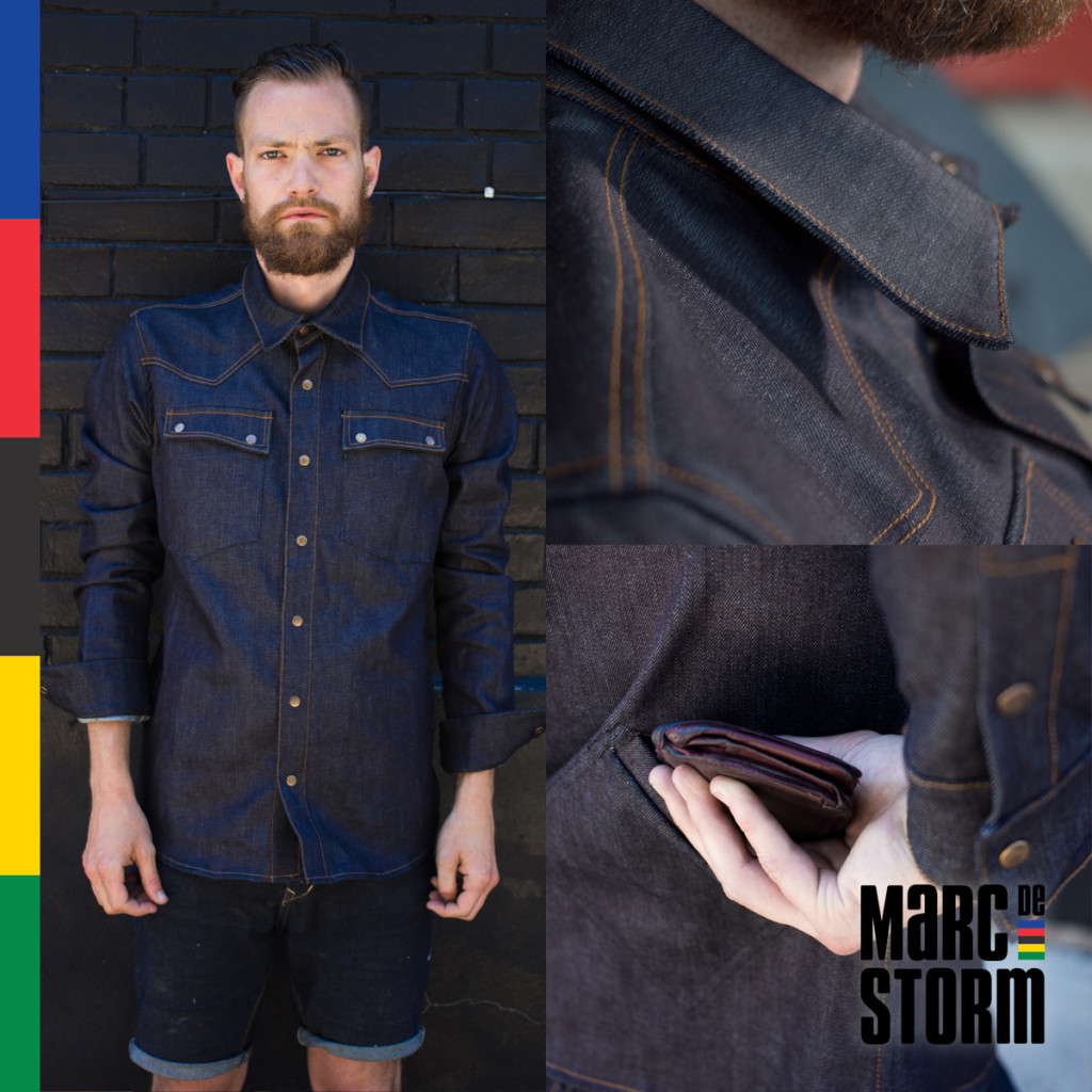 Marc de Storm. The Denim Shirt.