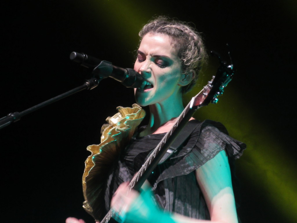 St Vincent at Montreal's Jazz Festival  Photo by Robyn Homeniuk