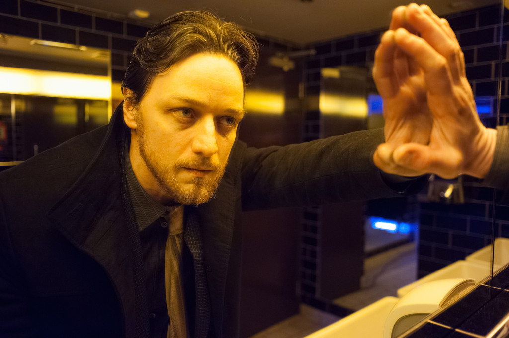 James McAvoy in Filth.
