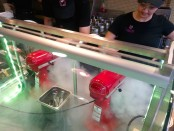 Delicha! Liquid nitrogen ice-cream bar. Photo by Annie Shreeve