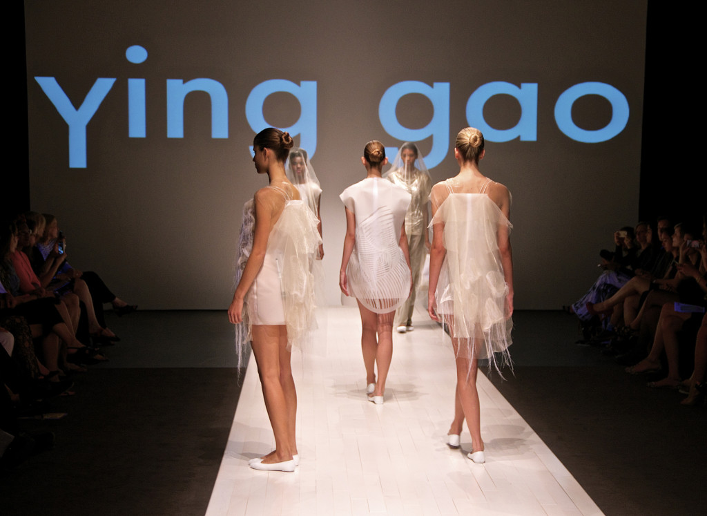 Ying Gao. Spring/Summer 2015 line. PHoto Michael Bakouch.