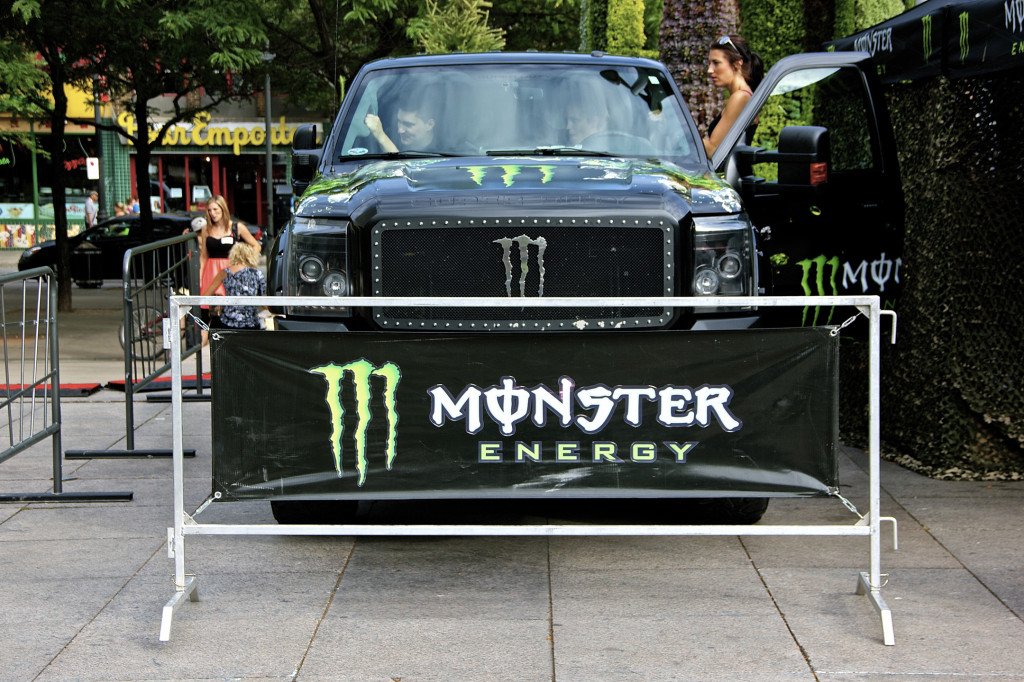 Monster Energy. Photo Michael Bakouch.
