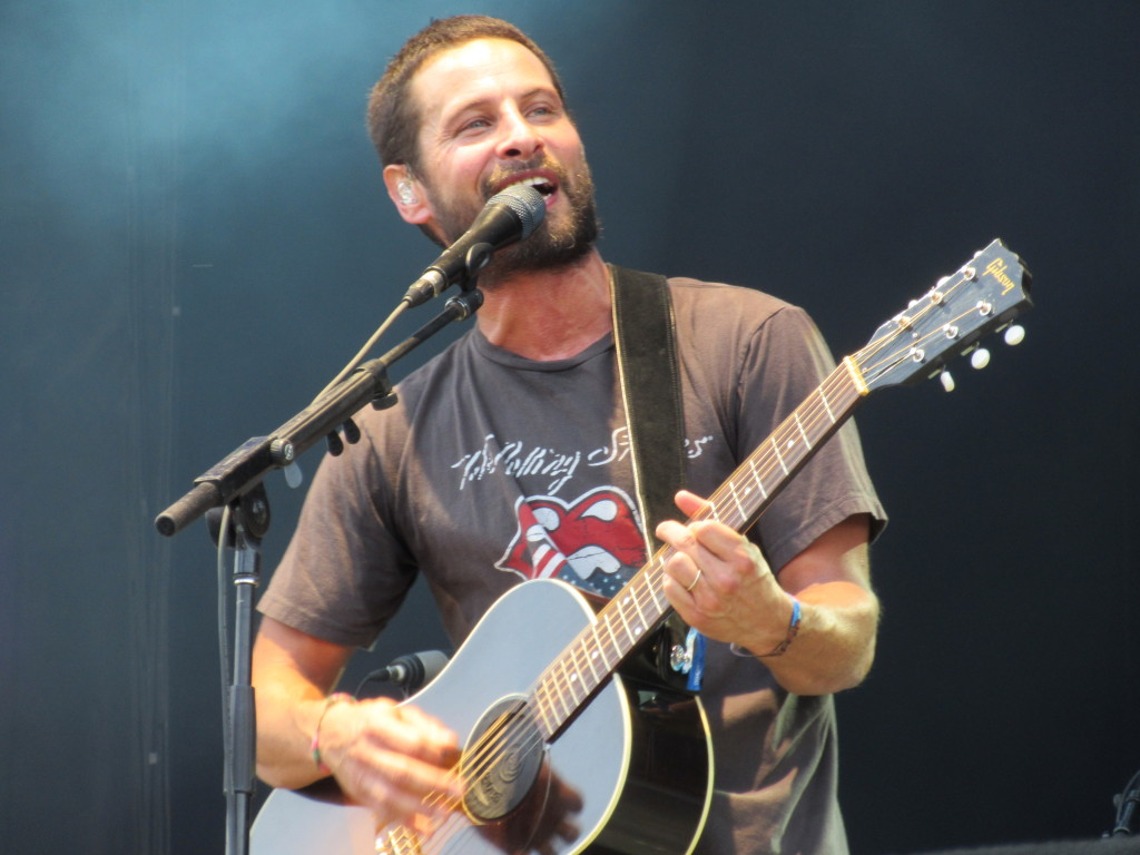 Sam Roberts at Osheaga Festival, Montreal. Photo By Robyn Homeniuk.
